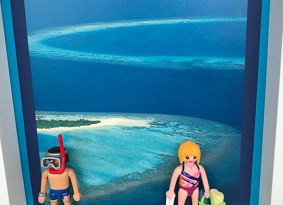 Snorkeling dans les îles