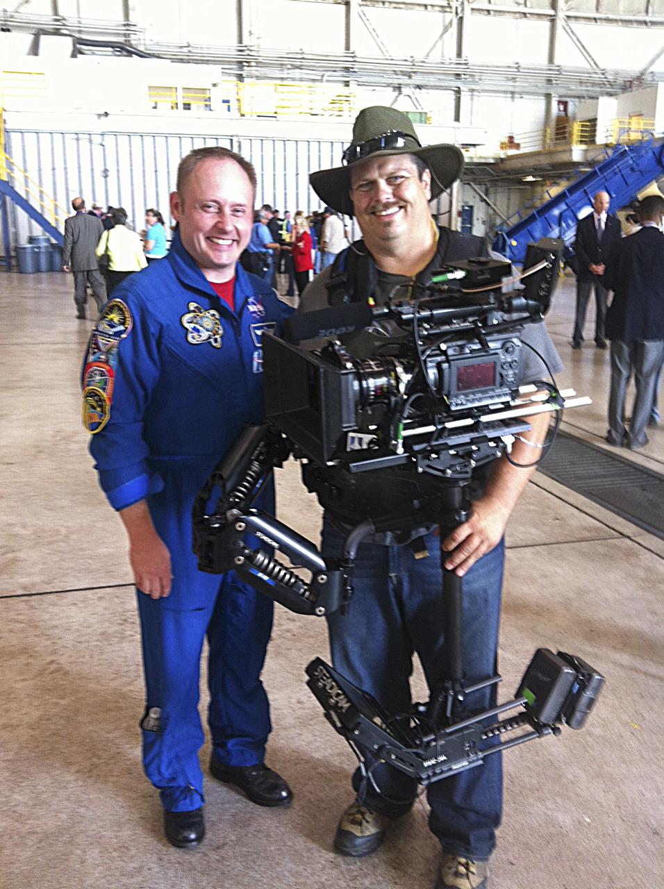 Shuttle Astronaut and I.JPG