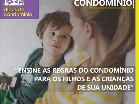 Dicas de condomínio: crianças