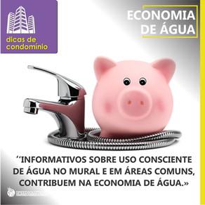 DICA DE CONDOMÍNIO: economia de água