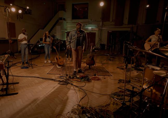 Jordan Mackampa // Live at Abbey Rd