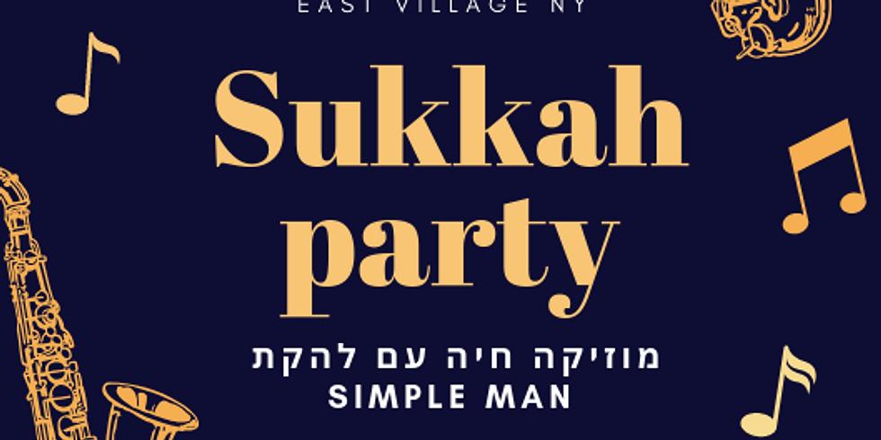 Sukkah party !!!