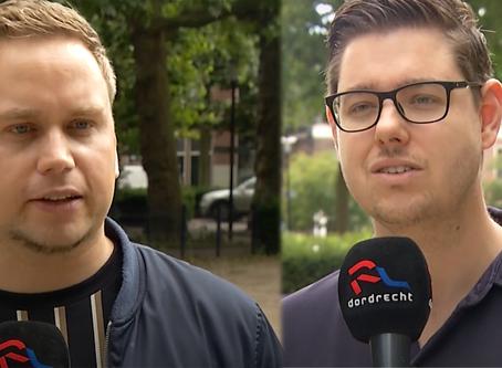 Kevin en Vincent over het belang van Dordrecht Pride