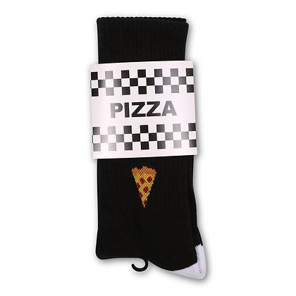 PIZZA SOCKS BLACK