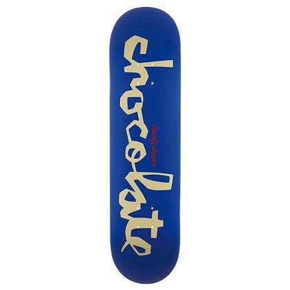 CHOCOLATE SKATEBOARD DECK 7,75