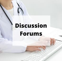 Online forums: