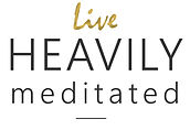 live heavily meditated_logo_no box_gold.