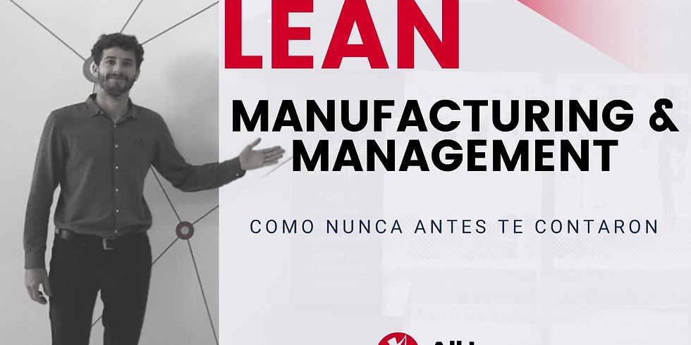Curso Integral: Lean Manufacturing & Management