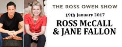 Ross McCall and Jane Fallon