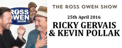 Ricky Gervais and Kevin Pollak