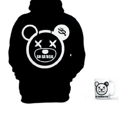 So Sa'Real Hoodie (black)  X Mug (Limited Offer)