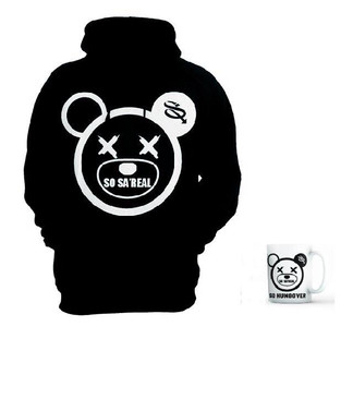 So Sa'Real Hoodie (black)  X Mug (Limited Offer)
