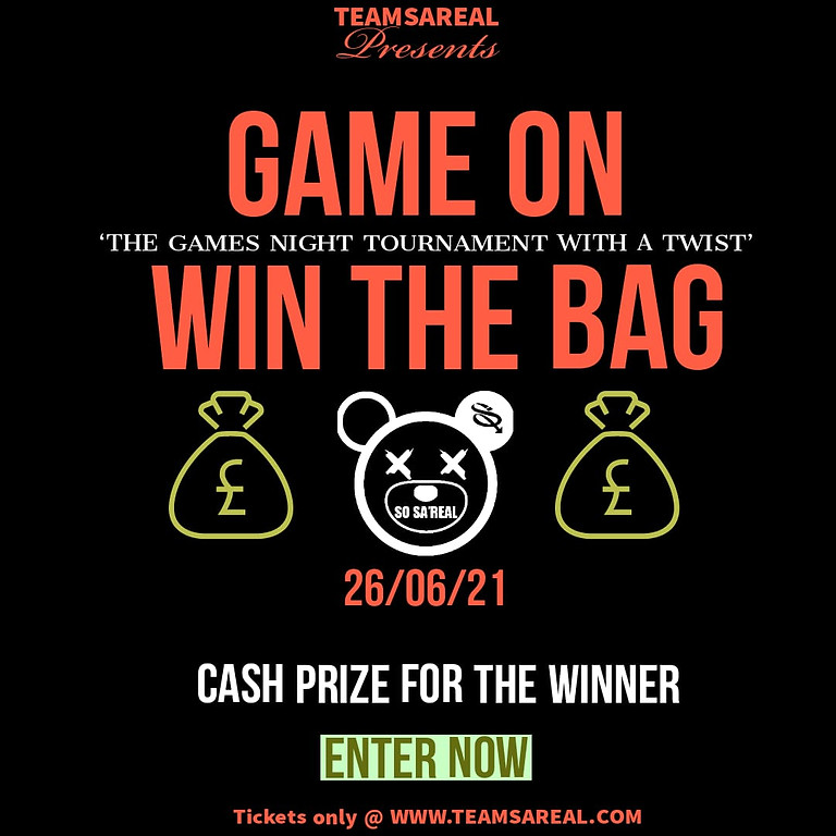 GAME ON - WIN THE BAG