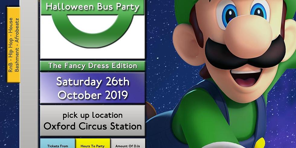 Halloween Bus Party - SATURDAY
