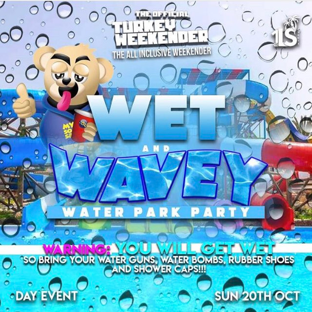 Wet and Wavey - Water Park Party