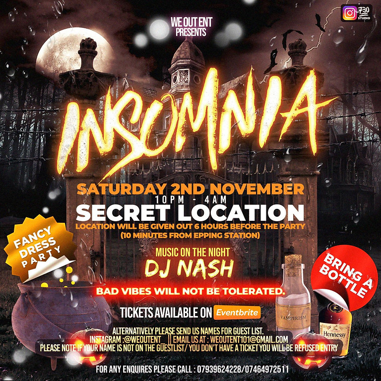 Insomnia Mansion Party