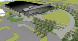 Davis Arena Site Model