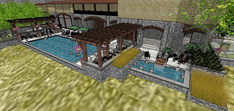 Biltmore Pool Terrace