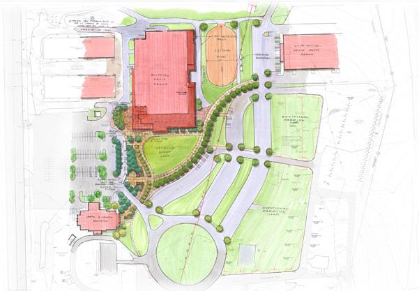 Davis Arena Site Plan
