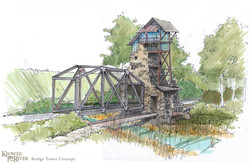 Keowee River Bridge Crossing