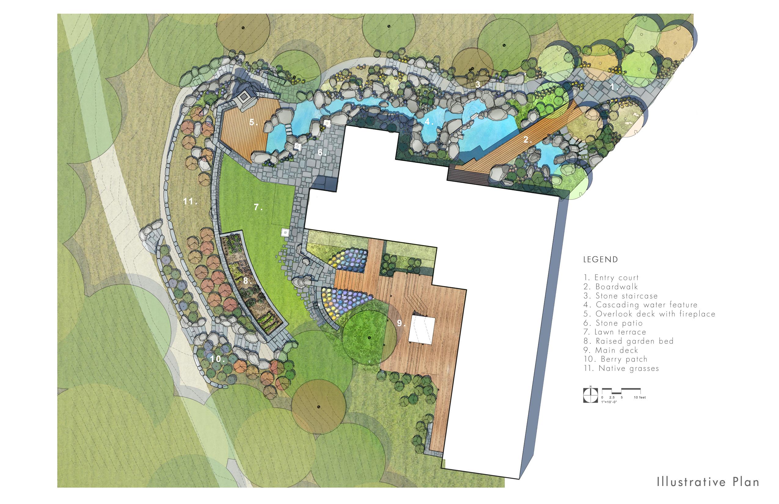 Town Mountain Site Plan