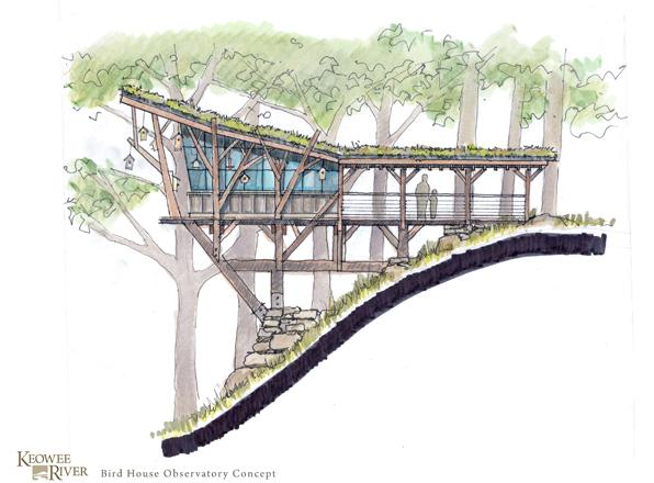 Keowee River Sketch
