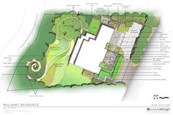 Williams Residence Site Plan