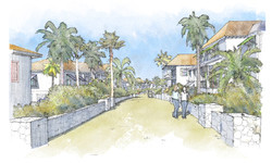 Deep Water Cay Streetscape