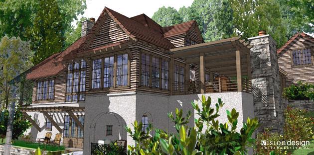 Cliffs Valley Residence Model 1