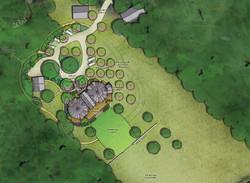 Warren Wilson Residence Site Plan
