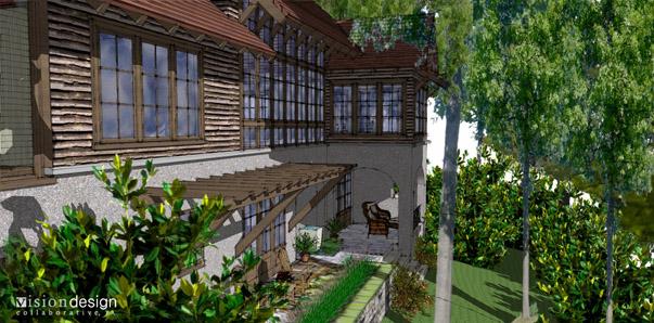 Cliffs Valley Residence Model 2