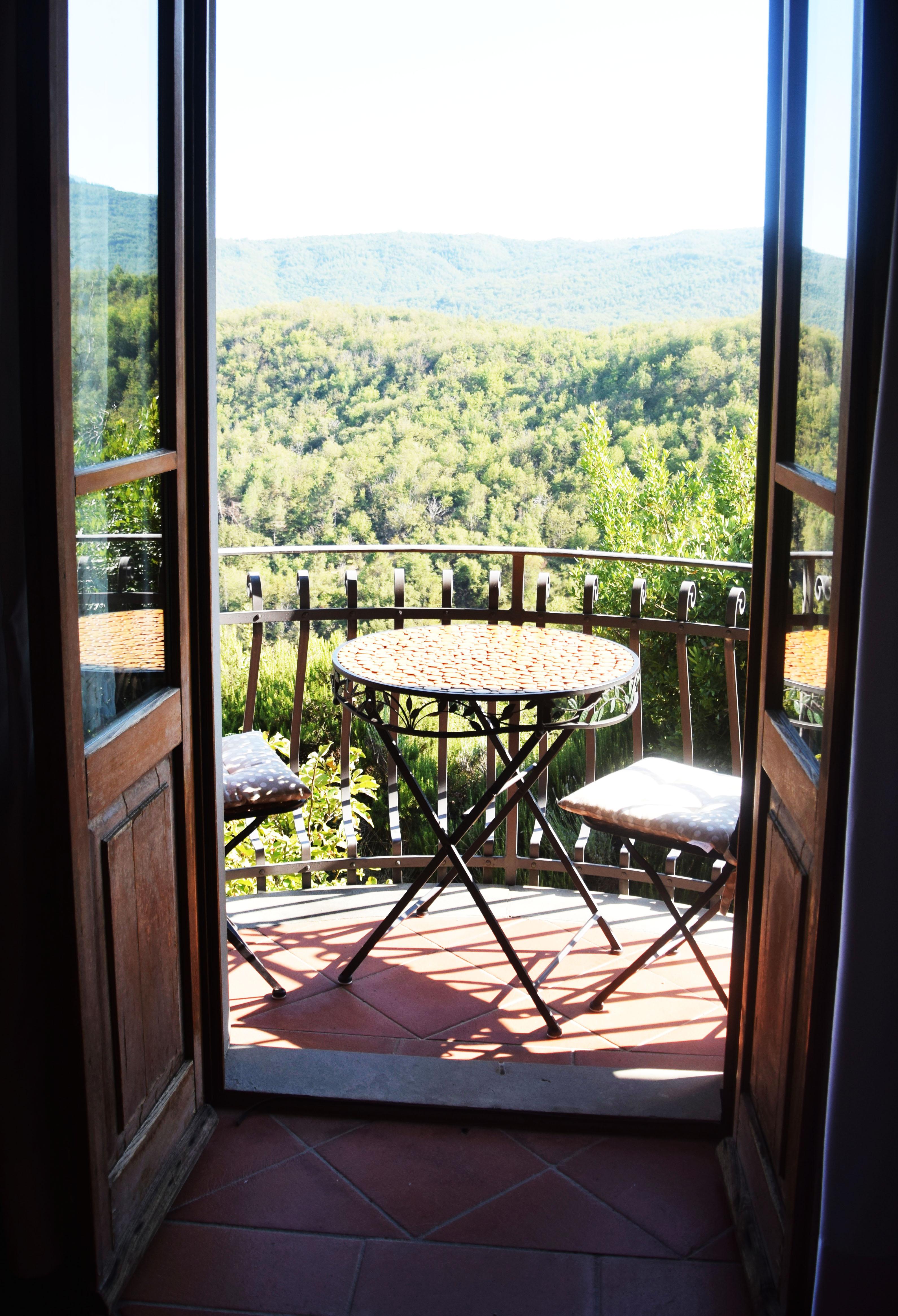 Balkon Oberes Schlafzimmer