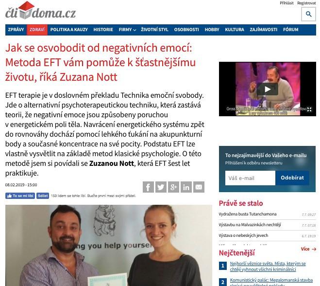 rozhovor pro www.ctidoma.cz