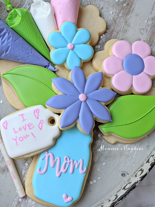 Mother's Day DIY cookie kit