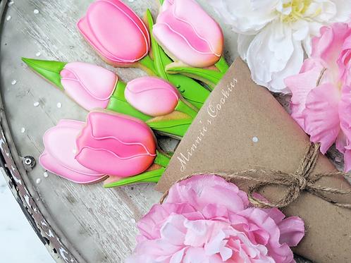 TulipCookie Bouquet