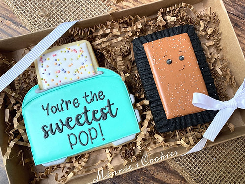 Chocolate Pop Tart Set