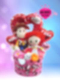 結婚祝い ウェディングタオルケーキ トイストーリー オリジナル ディズニー