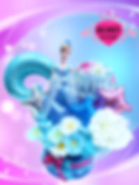 バースデープレゼント お誕生日プレゼント タオルケーキ シンデレラ プリンセス ディズニー