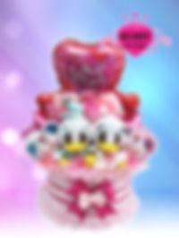 結婚祝い ウェディングタオルケーキ ドナルド&デイジー ディズニー オリジナル