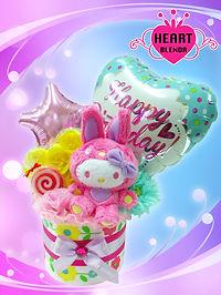 バースデープレゼント お誕生日プレゼント タオルケーキ キティ