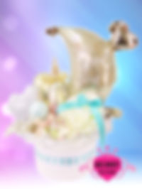 結婚祝い ウェディングタオルケーキ ナチュラル オリジナル