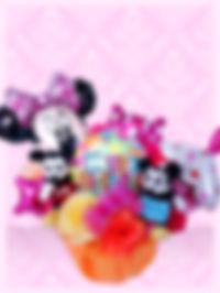 バースデープレゼント 誕生日プレゼント アレンジ バルーンアレンジ オリジナル ミッキーミニー ディズニー 楽しい