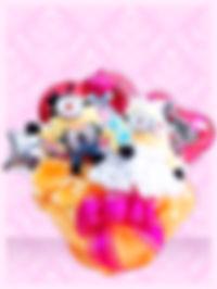 結婚のお祝いに ウェルカムボードの飾りに 結婚プレゼント バルーンアレンジ 楽しい ミニオン