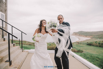 Annie and Terance's wedding at Montauk Lighthouse