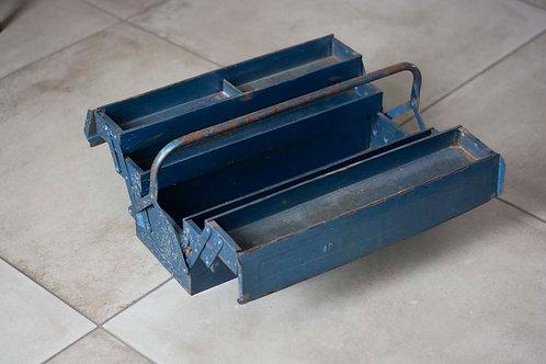 Vintage gereedschapskist