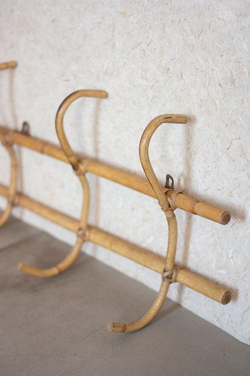 Bamboe rotan kapstok