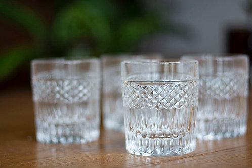 Water/wiskey glas