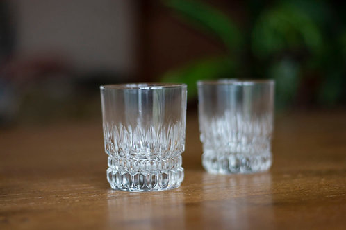 WATER/WHISKEY GLAS