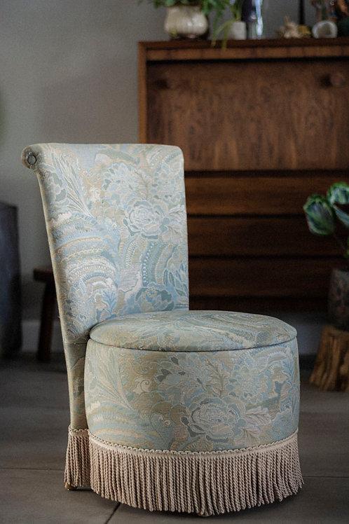 Vintage Boudoir stoel - naaistoeltje