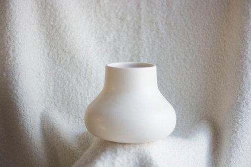 Witte blub vaas